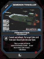 Geminon Traveller, Freighter BSG-156 (U) Battlestar Galactica CCG