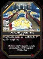 Hangar Deck Fire BSG-030 (U) Battlestar Galactica CCG