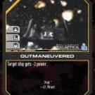 Outmaneuvered BSG-036 (C) Battlestar Galactica CCG