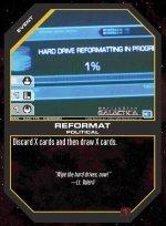 Reformat BSG-040 (C) Battlestar Galactica CCG