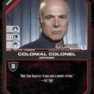 Saul Tigh, Colonial Colonel BSG-133 (C) Battlestar Galactica CCG