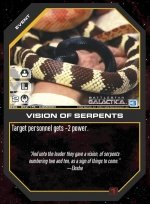 Vision of Serpents BSG-052 (C) Battlestar Galactica CCG