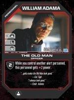 William Adama, The Old Man BSG-143 (C) Battlestar Galactica CCG