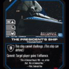 Colonial One, The President's Ship BTR-139 (C) Battlestar Galactica CCG