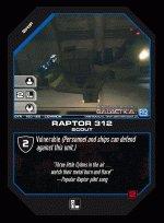 Raptor 312 BTR-160 (C) Battlestar Galactica CCG