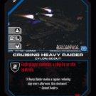 Cruising Heavy Raider BTR-147 (C) Battlestar Galactica CCG
