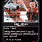 Deck Crew BTR-058 (C) Battlestar Galactica CCG