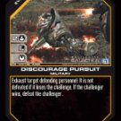 Discourage Pursuit BTR-015 (R) Battlestar Galactica CCG