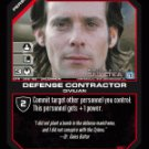 Dr. Baltar, Defense Contractor BTR-098 (U) Battlestar Galactica CCG