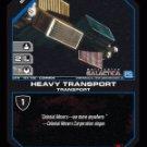 Heavy Transport BTR-151 (C) Battlestar Galactica CCG