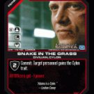Leoben, Snake in the Grass BTR-118 (C) Battlestar Galactica CCG