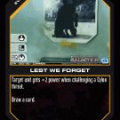 Lest We Forget BTR-023 (C) Battlestar Galactica CCG