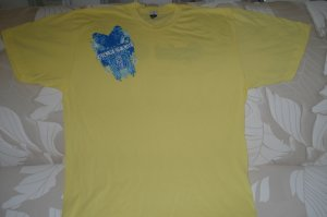 Yellow Classic Fit T-Shirt QG Owl Design  *Limited Sizes*