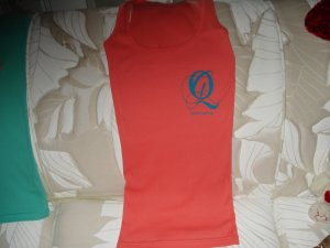 Quiet Grind Coral Female Tank With QG Logo