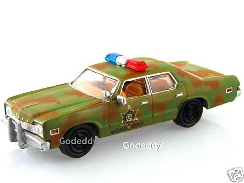 johnny lightning dukes of hazzard camo police car r5. Black Bedroom Furniture Sets. Home Design Ideas