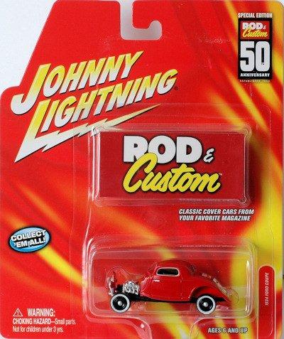 Johnny Lightning Rod n Custom Newsflash Special '34 Ford