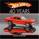 HOT WHEELS: Hard Cover Forty Years Big Coffee Table Book. A must have for any collector!!!