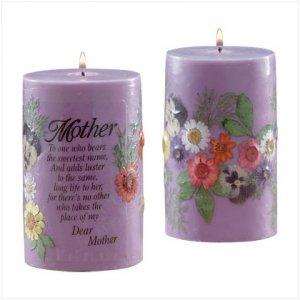 Mom Candle