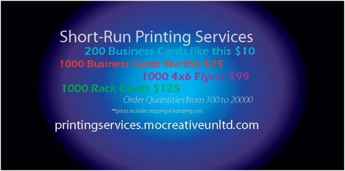 500 Ct. Silvery Metallic Business Cards