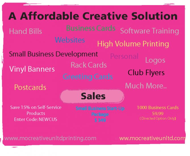 2500 Ct Economy-UV Front/Back- Business Cards