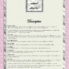 Paris Shabby Couture Ebay Auction Template
