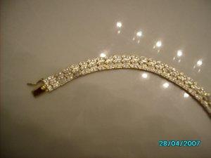 "8"" Diamond  bracelet"