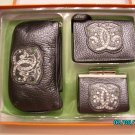 Sharif Designer boxed leather set