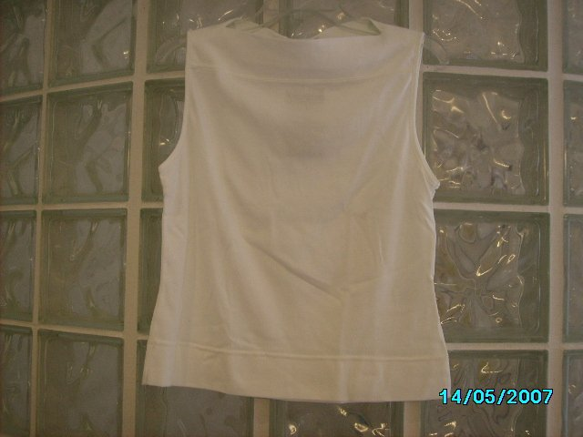 Ladies sleeveless summer top