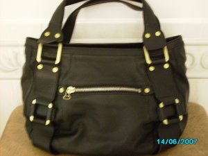 Designer inspired high end leather bag
