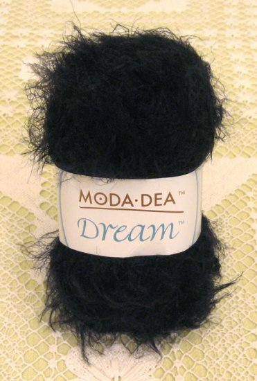 "Moda Dea Dream ""Black"" Yarn ~ 1 Skein ~ $5"