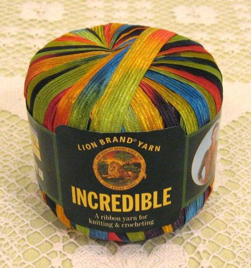 "Lion Brand Incredible ""City Lights"" Yarn ~ 1 Skein ~ $4"