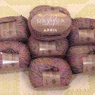 "$70 Lot--10 Skeins Nashua April ""Lavender Blue"" Cotton Yarn + Free Gift!"