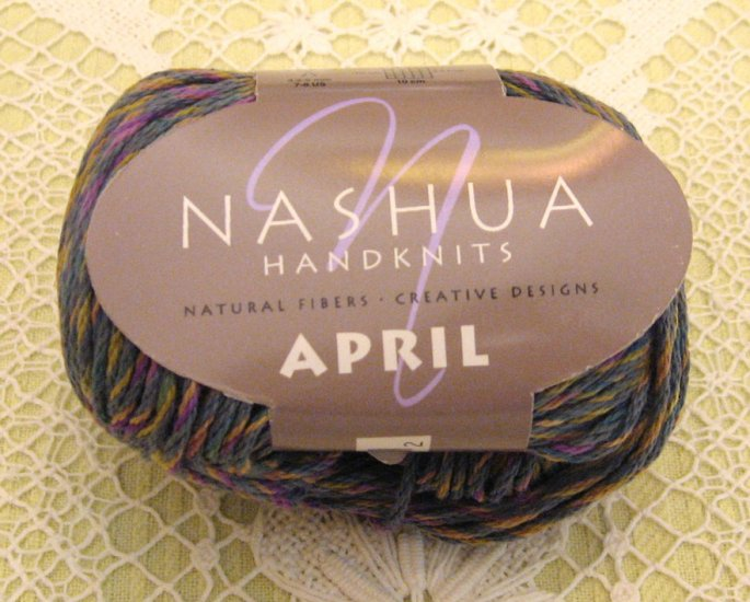 "Nashua April ""Denim"" Cotton Yarn ~ 1 Skein ~ $3.50"