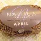 "Nashua April ""Warm Brown"" Cotton Yarn ~ 1 Skein ~ $3.50"