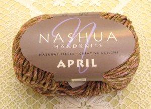 "Nashua April ""Warm Brown"" Cotton Yarn ~ 1 Skein ~ $3.50"