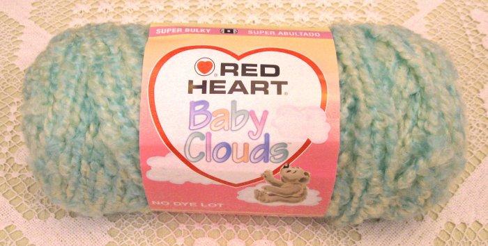 "Red Heart Baby Clouds ""Breeze"" Yarn ~ 1 Skein $2.50"
