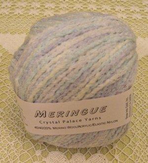 "Crystal Palace Meringue ""Icestorm"" Yarn ~ 1 Skein ~ $3.50"