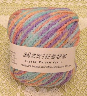 "Crystal Palace Meringue ""Baby"" Yarn ~ 1 Skein ~ $3.50"