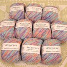 "$100 Lot--10 Skeins Crystal Palace Meringue ""Baby"" Yarn + Free Gift!"