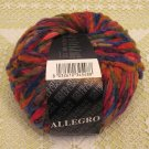 "Filatura Di Crosa Allegro ""11 Red Multi"" Yarn ~ 1 Skein ~ $5"