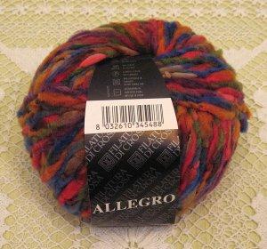 """Filatura Di Crosa Allegro """"11 Red Multi"""" Yarn ~ 1 Skein ~ $5"""