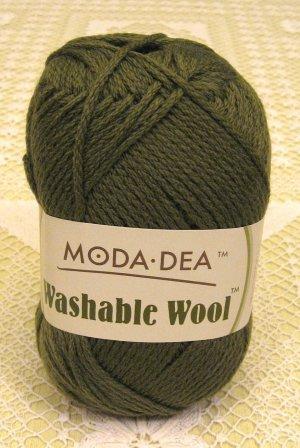 "Moda Dea Washable Wool ""Moss"" Yarn ~ 1 Skein ~ $5"