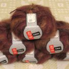 "$66 Lot--6 Skeins Muench Furrari ""4406"" Mohair Yarn + Free Gift!"