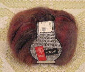 "Muench Furrari ""4410"" Mohair Self-Striping Yarn ~ 1 Skein ~ $7"
