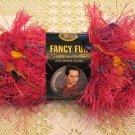 """Lion Brand Fancy Fur """"Party Pink"""" Yarn ~ 1 Skein ~ $2.75"""