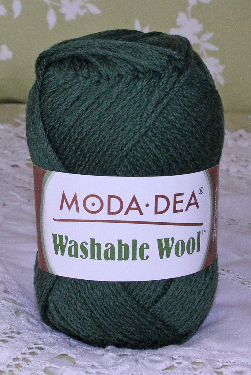"Moda Dea Washable Wool ""Sage Green"" Yarn ~ 1 Skein ~ $5"