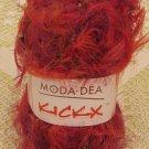 "Moda Dea KickX ""Fever"" Yarn ~ 1 Skein ~ $3"