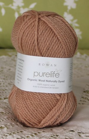 "Rowan Purelife Organic Wool ""Onion"" Yarn ~ 1 Skein ~ $7"