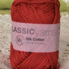 "Rowan Silk Cotton ""Brick"" Yarn ~ 1 Skein ~ $6"