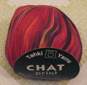 "Tahki Chat Print ""23"" Yarn ~ 1 Skein ~ $4"